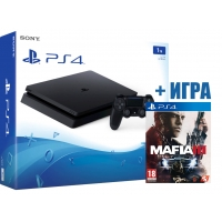 SONY PLAYSTATION 4 SLIM 1TB (PS4 SLIM) + MAFIA 3