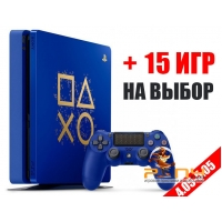 SONY PLAYSTATION 4 SLIM 1TB + 15 ИГР НА ВЫБОР