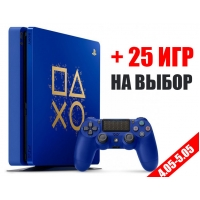 SONY PLAYSTATION 4 SLIM 1TB + 25 ИГР НА ВЫБОР