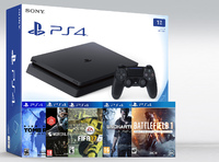 SONY PLAYSTATION 4 SLIM 500Gb (PS4 SLIM) + 10 ИГР