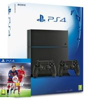 SONY PLAYSTATION 4 1TB (CUH-1216B) Black + 2шт. Dualshock 4 + FIFA 16