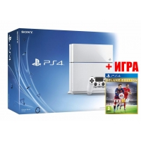 SONY PLAYSTATION 4 1TB (CUH-1206A) White + FIFA 16 Delux