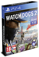 Игровой диск Watch Dogs 2 PS4