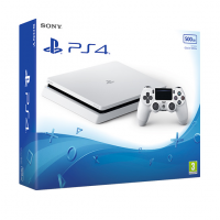 SONY PLAYSTATION 4 SLIM 500GB (PS4 SLIM) White