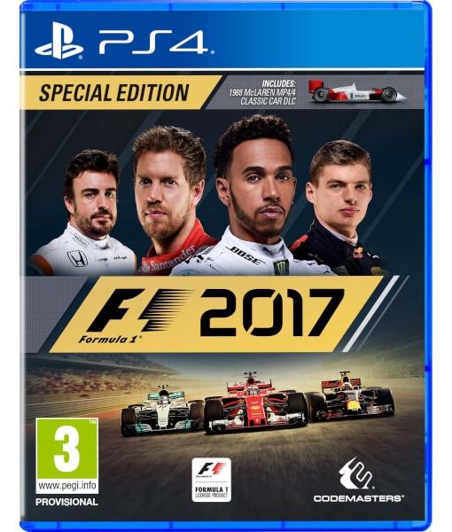 [Прокат PS4] F1 2017 Special Edition