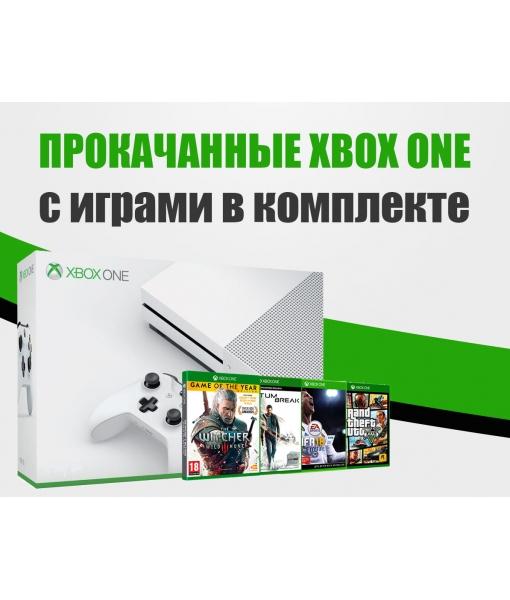 Xbox One S 2TB + 50 ИГР на выбор