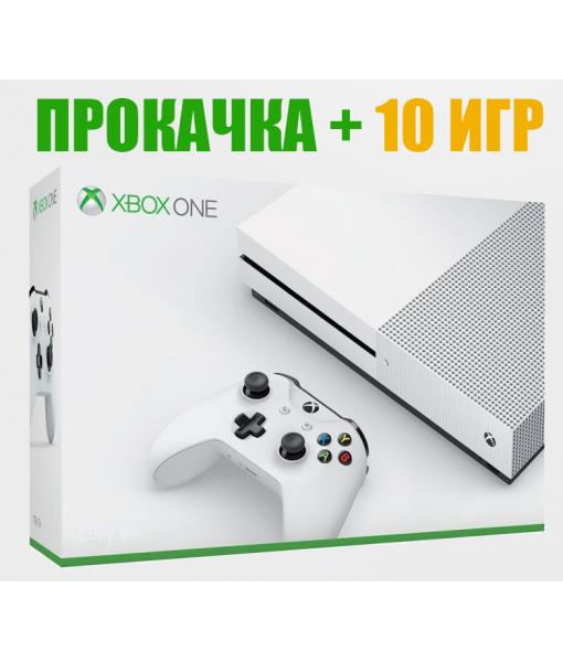 Прокачка XBOX ONE + 10 ИГР