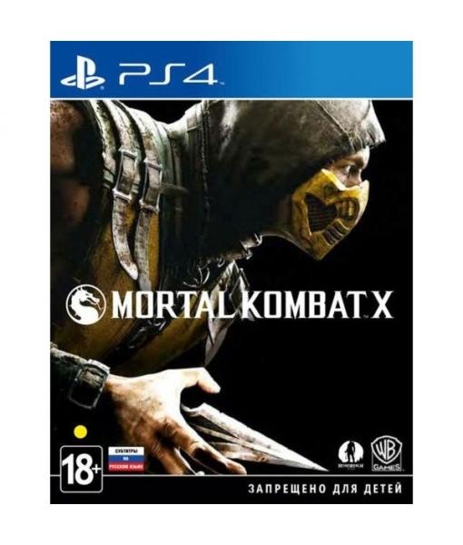 [Прокат ps4] Mortal Kombat X