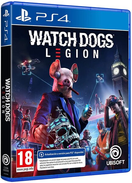 Watch Dogs: Legion игра [PS4]