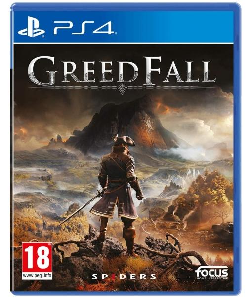 GreedFall игра [PS4]
