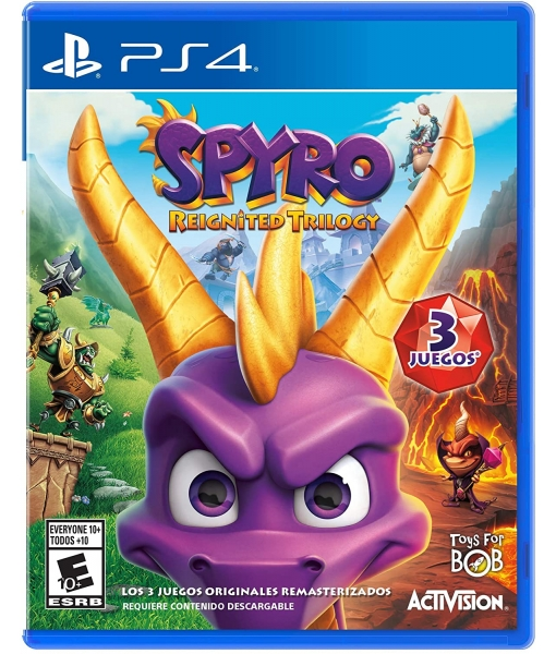 Spyro Reignited Trilogy игра [PS4]
