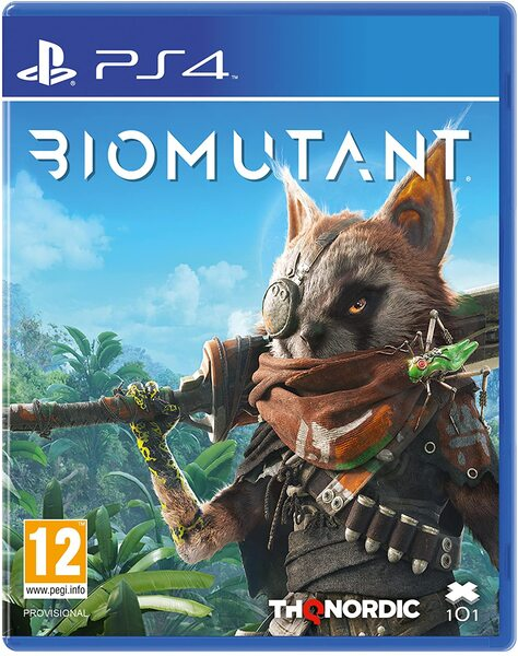Biomutant игра PS4 & PS5