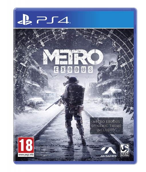 METRO EXODUS игра [PS4]