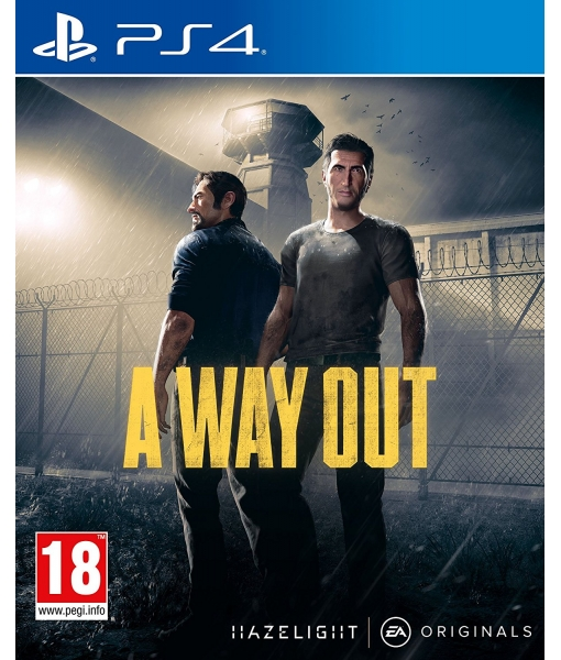 A way out игра [PS4]