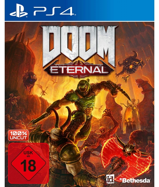 DOOM Eternal игра [PS4]