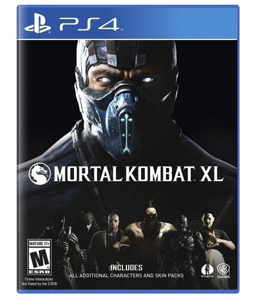 Mortal Kombat XL игра [PS4]