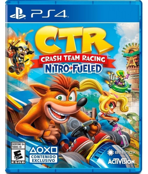 Crash Team Racing Nitro-Fueled игра [PS4]
