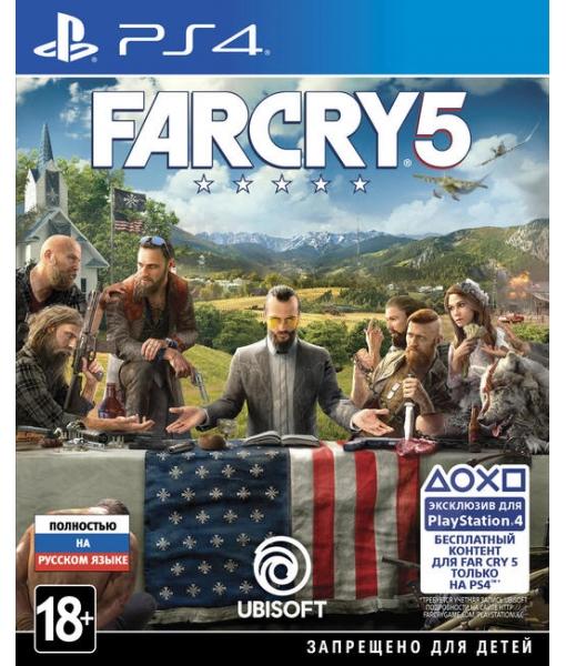 Far Cry 5 игра [PS4]