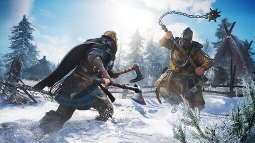 Assassin's Creed Valhalla игра [PS5]
