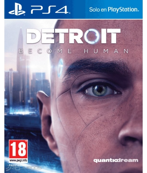 Detroit: Стать человеком + Heavy Rain игра [PS4]