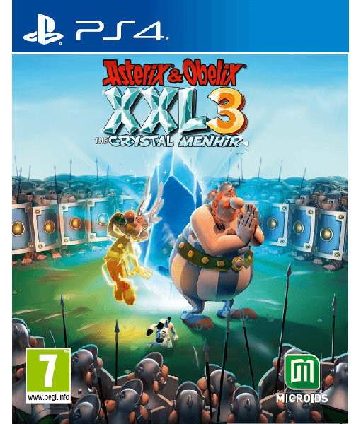 Asterix y Obelix XXL 3: The Crystal Menhir игра [PS4]