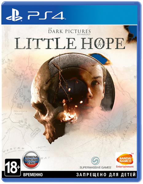 The Dark Pictures Little Hope игра PS4 & PS5