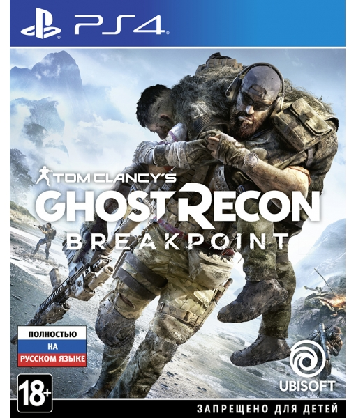 Tom Clancy's Ghost Recon: Breakpoint игра [PS4]