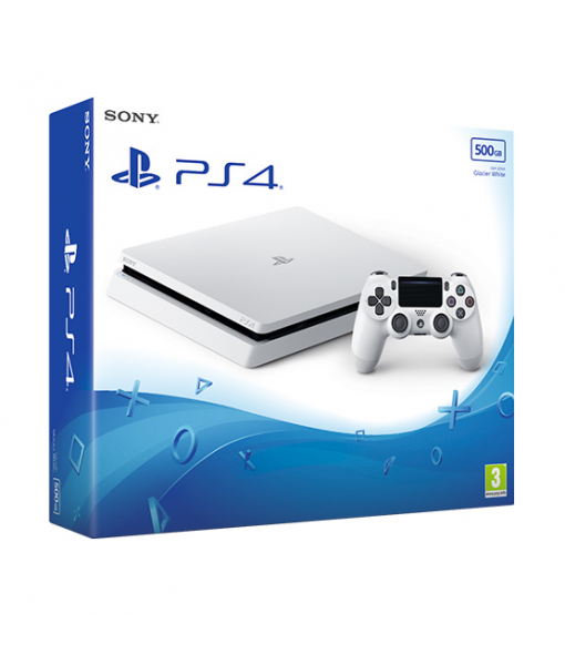 SONY PLAYSTATION 4 SLIM 500GB (PS4 SLIM) White