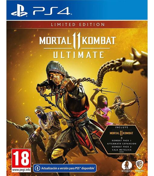 Mortal Kombat 11 Ultimate-издание