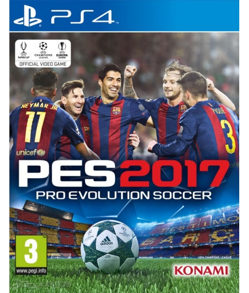 [Прокат PS4] 	Pro Evolution Soccer 2017