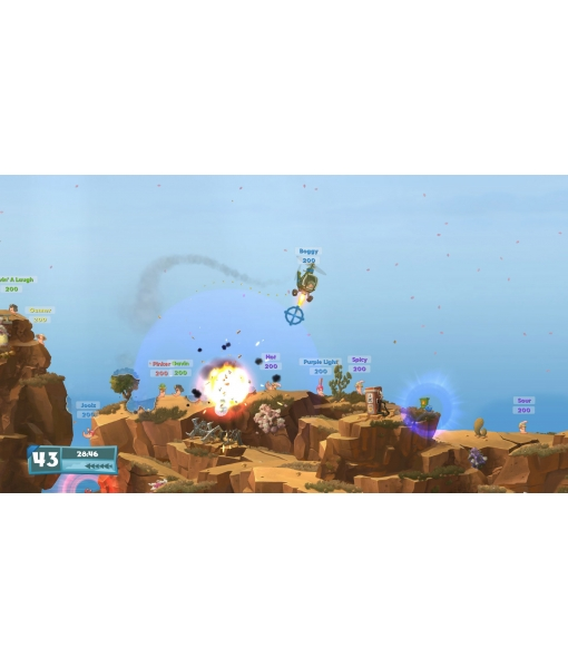 Worms W. M. D.игра [PS4]