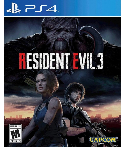 RESIDENT EVIL 3 REMAKE игра [PS4]