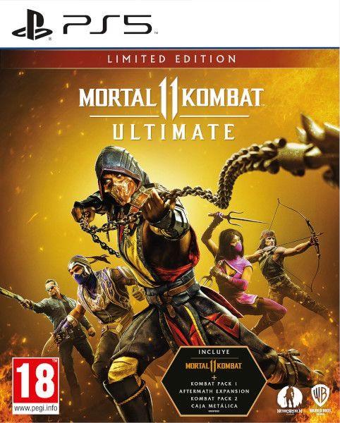 Ultimate-издание Mortal Kombat 11 игра [PS4]