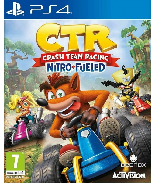 [Прокат PS4] Crash Team Racing Nitro-Fueled