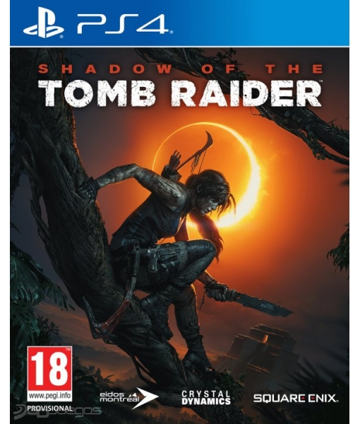 Shadow of the Tomb Raider игра [PS4]