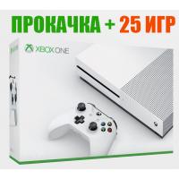 Прокачка XBOX ONE + 25 ИГР на выбор